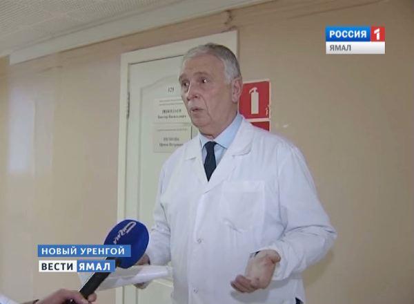 Заведующий консультативно-диагностическим отделением Поликлиники №2 Виктор Пожидаев