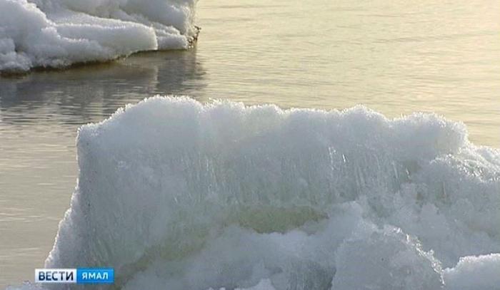 Где сейчас находится ледоход и далеко ли он от Ямала?