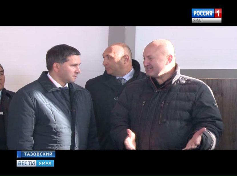 ВТазовском открыли тепловую электростанцию
