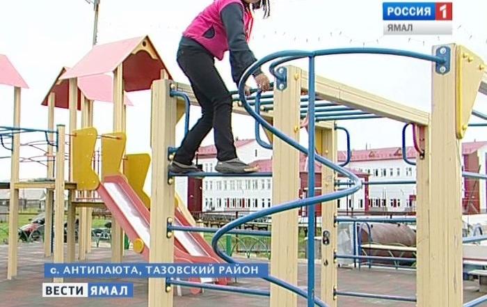 В Антипаюте пьяный тундровик избил девочку на детской площадке