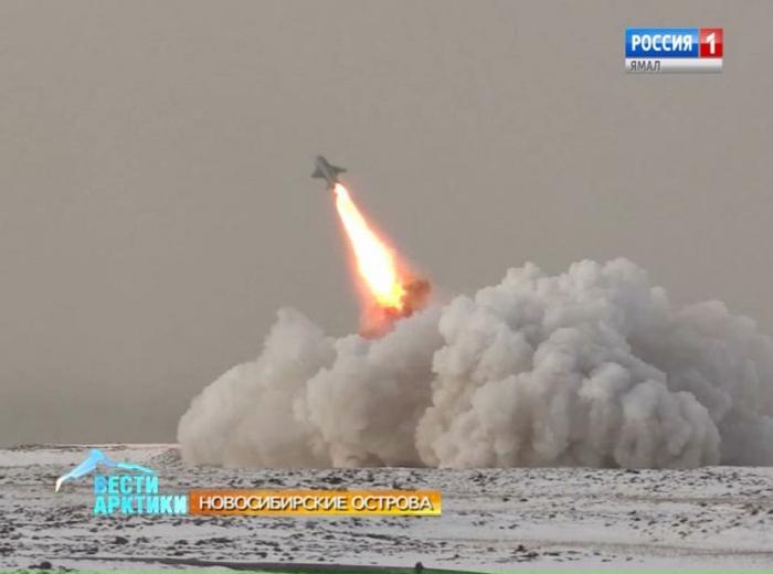 Северный флот провёл учения в районе архипелага Новосибирских островов