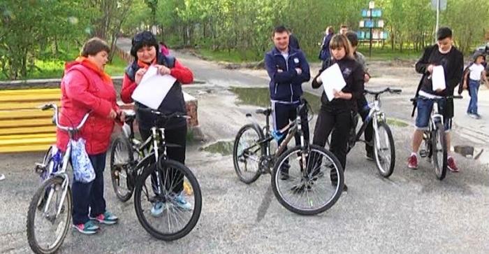 В Муравленко прошел необычный велоквест