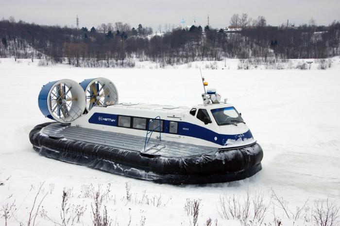 До Пельвожа и Катравожа в межсезонье будут курсировать 2 новых воздушных подушки