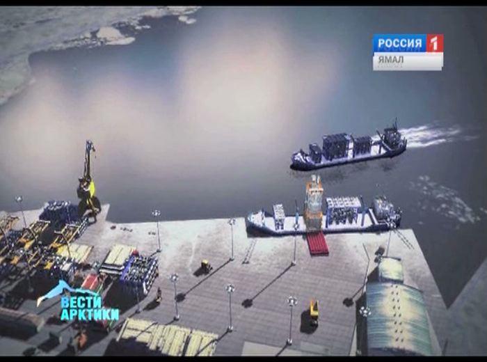 Сабетта стала абсолютным лидером по росту грузооборота среди морских портов РФ