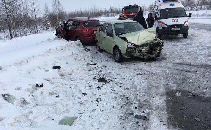 В Ноябрьске по вине автомобилистки в аварии пострадал годовалый ребенок