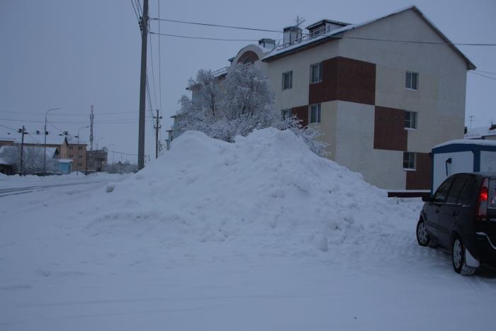В Салехарде больше нельзя складировать снег