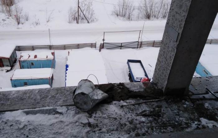 В Лабытнанги погиб рабочий, сорвавшись с седьмого этажа строящегося здания