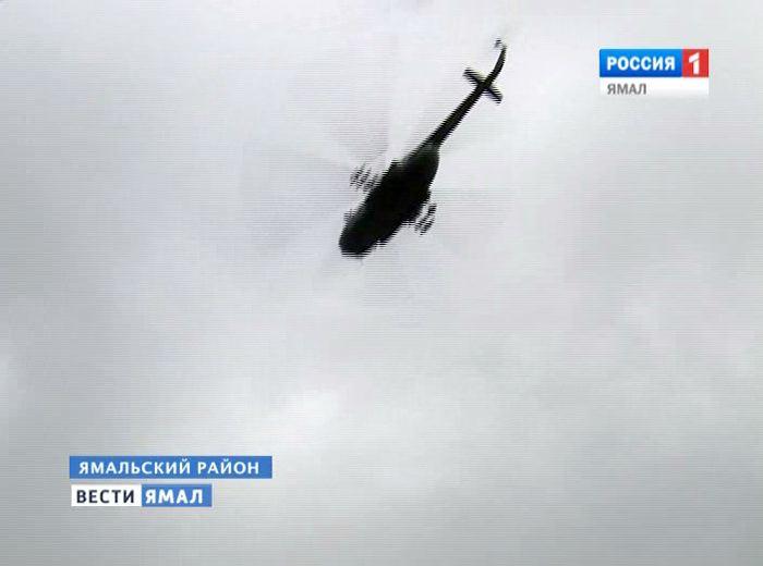 ВЯмале совершил аварийную посадку военный вертолет Ми-8