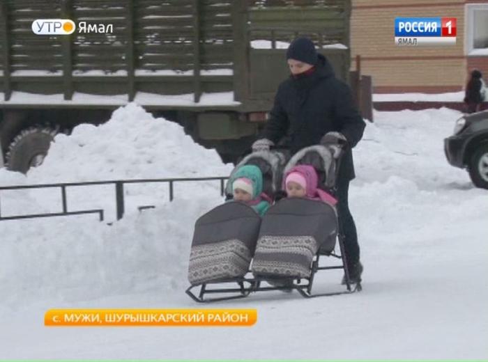 В этом году в Шурышкарском районе стало на 34 мамы больше