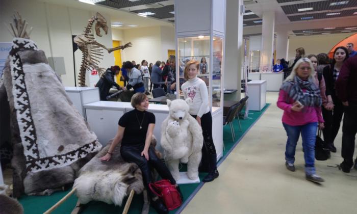 На Всероссийском фестивале науки NAUKA 0+ представлена научно-популярная экспозиция «Ямал-Сабетта»