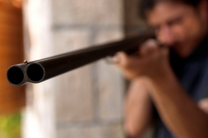 ВНадымском районе мужчина застрелил приятелей иобвинил вданном другого