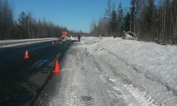 Три человека пострадали вДТП близ Ноябрьска