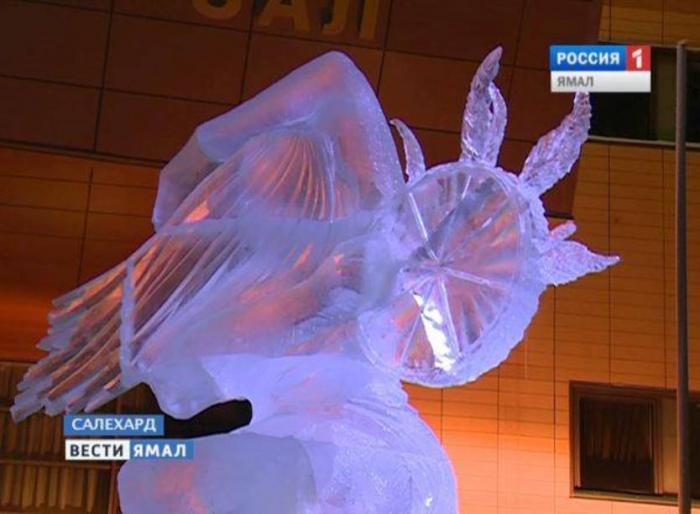В Салехарде отменили фестиваль ледовой скульптуры