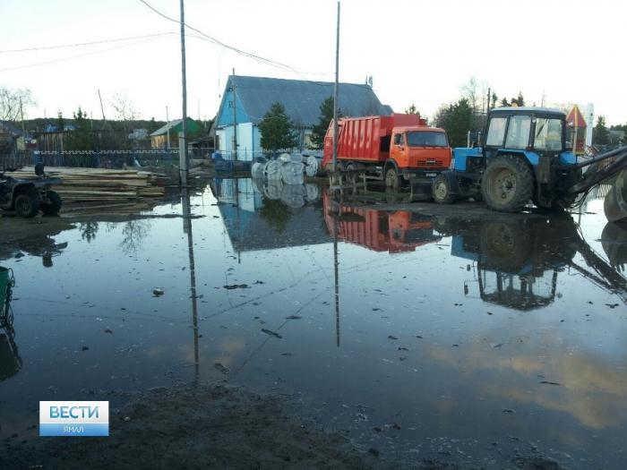Вямальском селе подтоплены 23 дома