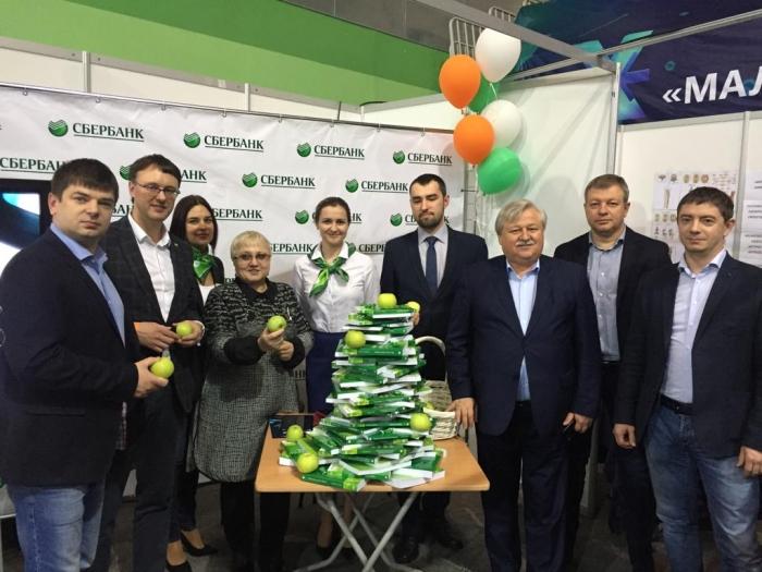 Сбербанк принял участие в X региональной выставке «Малый и средний бизнес Ямала»