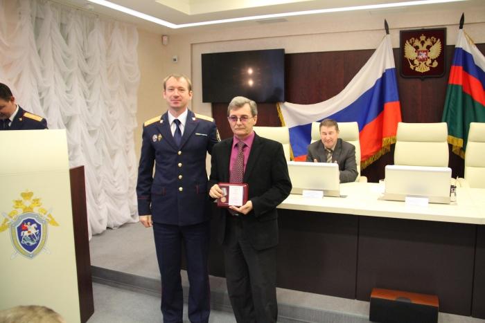 Медаль Следственного комитета РФ «За содействие» попала в хорошие руки