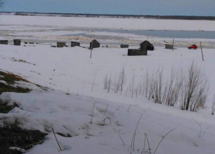 Жители Казым-Мыса не подтвердили информацию синоптиков о ледоходе