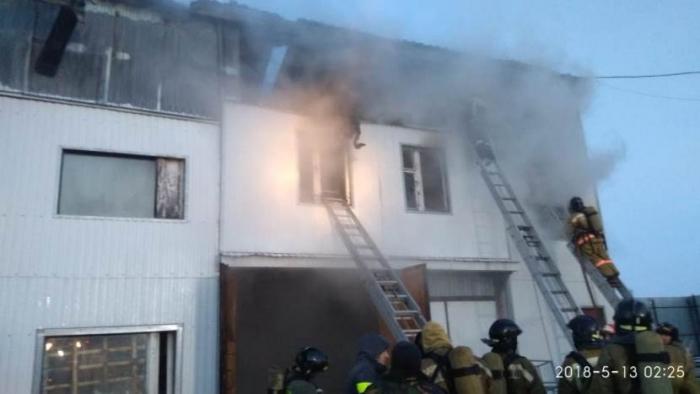 4 человека погибли впожаре вадминистративном помещении наЯмале