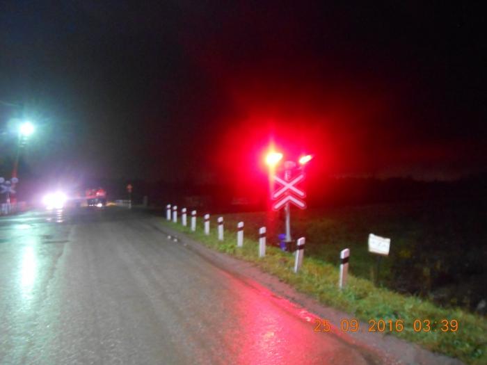 ВКоми встолкновении споездом пострадал шофёр иномарки