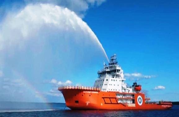 Российский арктический флот пополнился двумя дизельными уникальными ледоколами