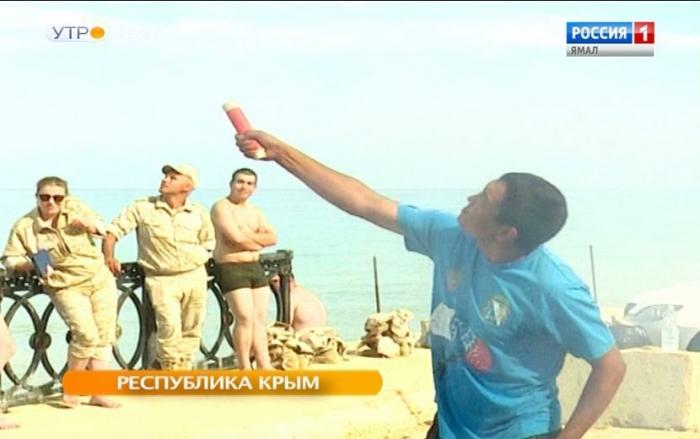 В Крыму продолжается ямальский проект «Знамя Победы»