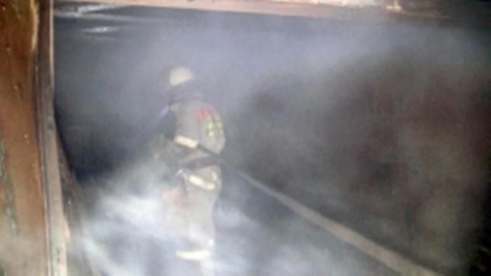 Накануне в Лабытнанги горел частично расселенный жилой дом