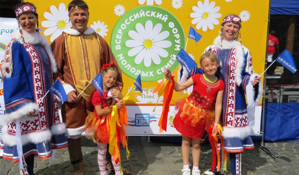 Ямальцы победили на Всероссийском фестивале клубов молодых семей