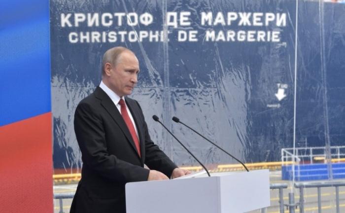 Владимир Путин примет участие в церемонии загрузки первого танкера-газовоза «Кристоф де Маржери»