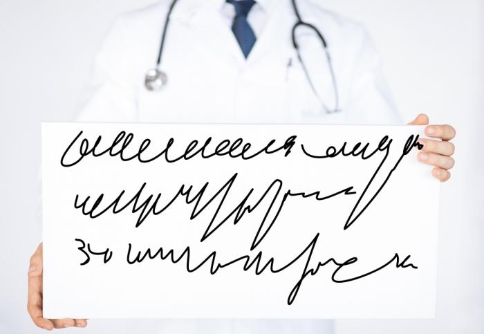 Почему у врачей такой плохой почерк?