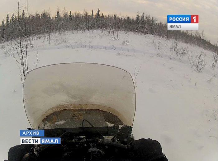 На Ямале отец и дочь уехали на снегоходах и пропали. Спасатели организовали целую поисковую операцию