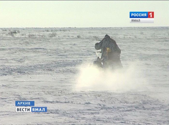 СКР задержал ямальца, который переехал приятеля снегоходом ивывез втундру замерзать