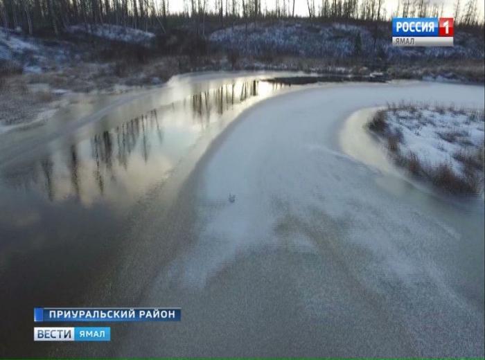 Метеорологи: лед на Ямале в этом году тоньше, чем обычно