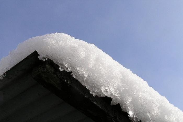В Муравленко маленькая девочка попала в больницу после того, как на нее упал снег с крыши