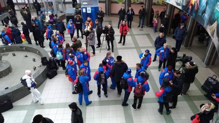 Вперед за золотыми медалями! Ямальская сборная улетела на Арктические зимние игры!