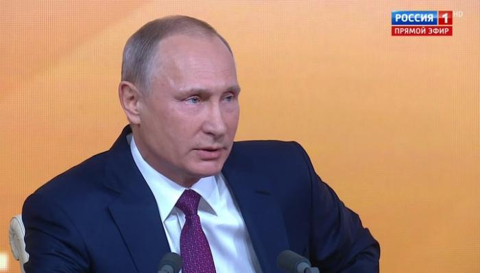 В Москве началась Большая пресс-конференция Владимира Путина