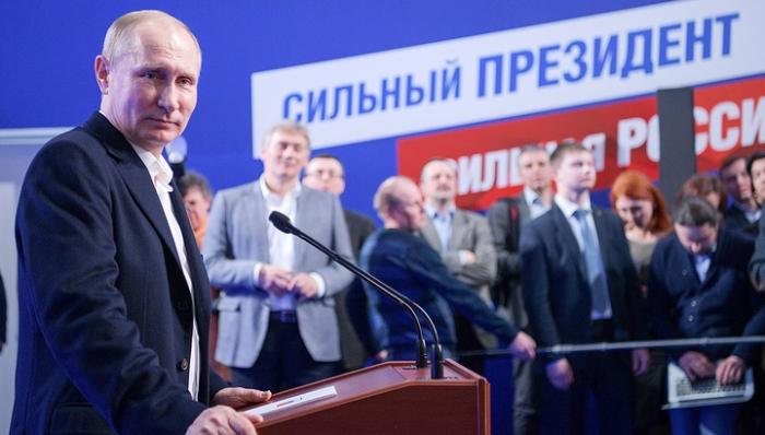Владимир Путин набрал рекордное число голосов в его политической карьере