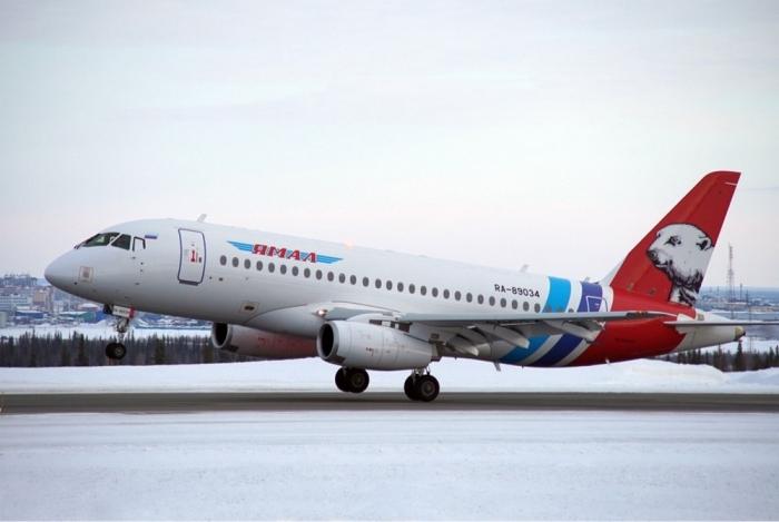 Еще один «Сухой Суперджет» получила авиакомпания «Ямал»